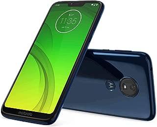 Motorola Moto G7 Power 32GB+3GB RAM XT1955-2 LTE Factory Unlocked GSM 5000mAh Battery Smartphone (International Version) (Marine Blue) (Renewed)