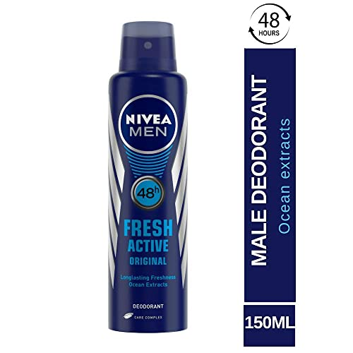 Nivea Fresh Active Original 48 Hours Deodorant For Men, 150ml