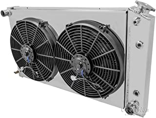 Champion Cooling CC161-AS Oldsmobile Cutlass 3 Row Plus Fan and Shroud Combo