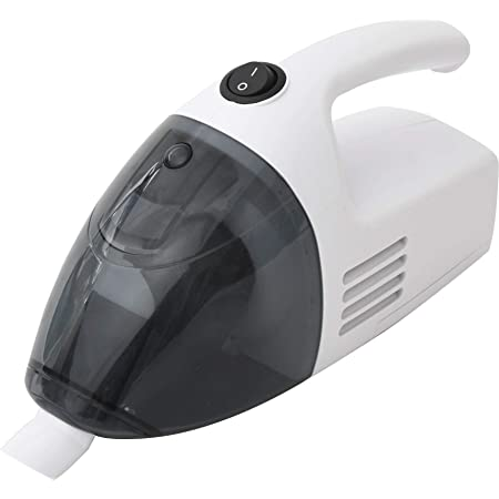 [山善] ハンディクリーナー コードレス 車用 すき間ノズル付き コンパクト 掃除機 35分連続稼動 電池式 ホワイト ZHJ-340(W)[メーカー保証1年]