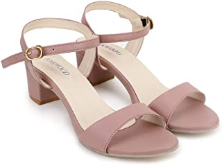 PINKWOOD Women Sandal Block Heel