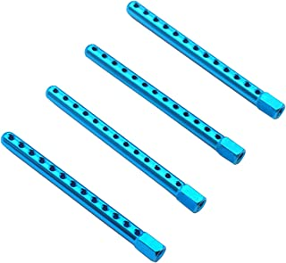 HY00137 RC Échelle 1//10 Corps noir Shell postes Shell supports x 4 plastique 60 mm