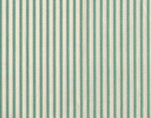 Why Choose Close to Custom Linens Gathered 18″ French Country Ticking Stripe Pool Blue-Green Cal King Bedskirt Cotton