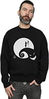 Disney Men's Nightmare Before Christmas Moon Oogie Boogie Sweatshirt