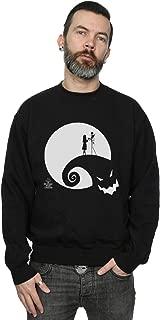 Men's Nightmare Before Christmas Moon Oogie Boogie Sweatshirt