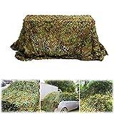 Vivarry Red De Camuflaje Multifunción 2x2M 1.5x3M 2x3M 1.5x5M 2x4M 3x3M 2x6M 3x4M 3x5M 4x4M 3x6M 4x5M 4x6M Camouflage Net Toldos para Acampar Malla De Camuflaje Camufar Y Dar Sombra