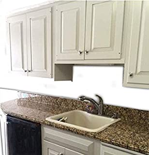 Instant Counter Top Film Makeover Faux Granite Peel and Stick Self Application Vinyl Laminate Contact Paper Venetian Gold 36