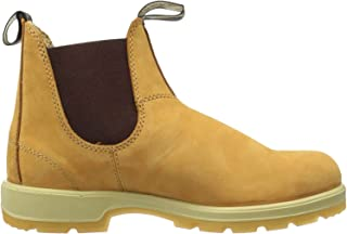 Blundstone Unisex Adults' Classic 550 Series Chelsea Boot, Wheat Nubuck Gumsole, 8 UK
