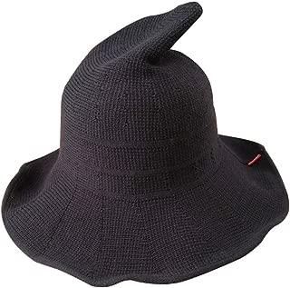 Luoke Women Summer Witch Cotton Sun Hat Foldable Costume Ball Hat Cap