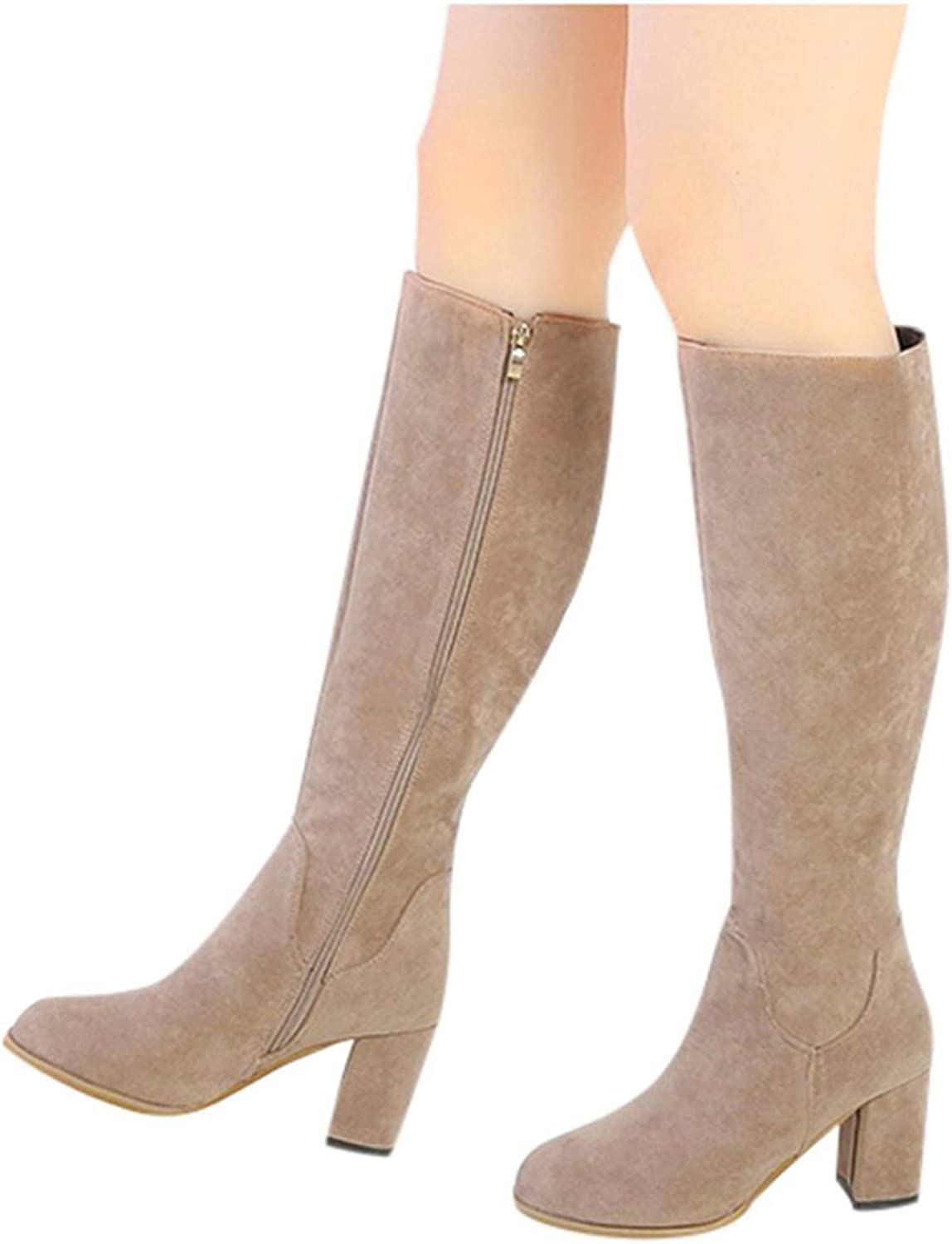 ZYAPCNGN Womens Over Knee Long Warm Popular Ranking TOP16 product Shoe Boots Casual Snow