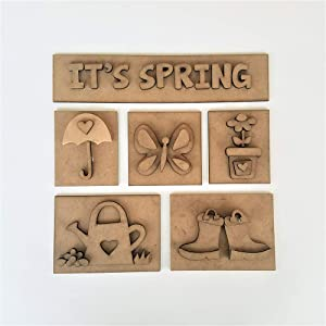 Foundations Décor, Shadow Box Kit - IT'S SPRING