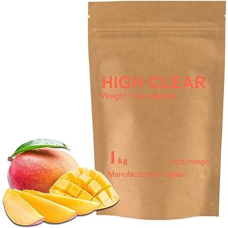 HIGH CLEAR ウェイトダウンマッハプロテイン マンゴー風味【ホエイ&ソイ&食物繊維】1kg【40食分】