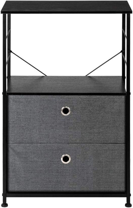 YAngXiaoYan Nightstand Brand 67% OFF of fixed price Cheap Sale Venue 2-Drawer Shelf Storage