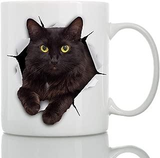 Best black cat coffee mug Reviews
