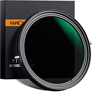 PLフィルター 82mm cpl+可変式NDフィルター2in1x状ムラなし nd2-nd32減光フィルター 偏光フィルター K&F Concept【メーカー直営店】