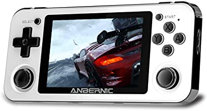 Dosnura RG351P Handheld Game Console, Retro Game Console Support PSP / PS1 / N64 / NDS Open Linux Tony System RK3326 Chip ...