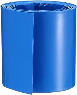 Tubo De Calor Shrink Tubería Envuelva Manga Azul 110mm X 1 metros 18650 batería Reino Unido Stock