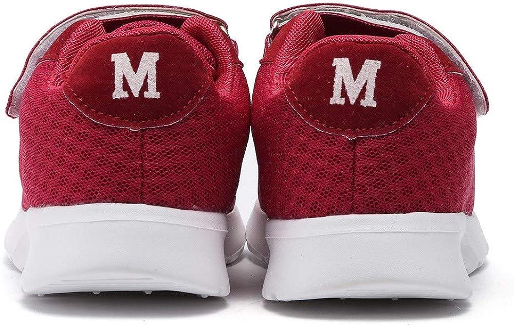 Kimloog Baby Boys Girls Letters Breathable Mesh Sports Shoes Hook and Loop Sneaker