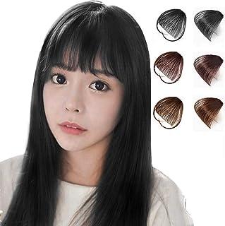 EUGO 前髪ウィッグ エクステ 空気感 小顔 ポイントウィッグ ワンタッチ かつら つけ毛 薄型 自然 wig エクステ