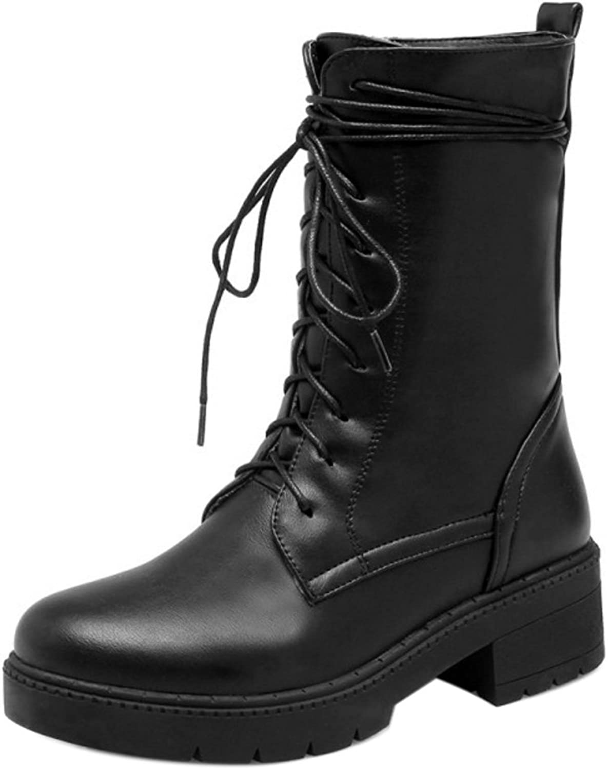 Cular Acci Women Winter Lace Up Boots Warm Lined