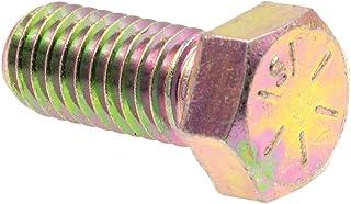 Grade 8 Grade 8 Yellow Zinc Plated Steel 10-Pack 7//16 in-14 X 3-1//2 in Prime-Line 9105656 Hex Head Cap Screws