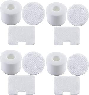 Foam and Felt Filter Kit for Shark NV42 NV46 UV402 UV410 Deluxe Upright Vacuum Cleaner, Replace Part #XFF36 (Pack of 4)