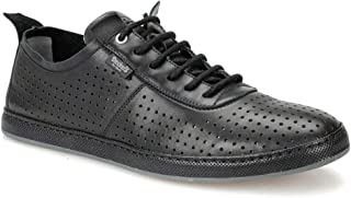 Dockers by Gerli 226201 Siyah Koyu Gri Erkek Deri Ayakkabı
