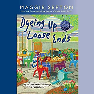 Dyeing Up Loose Ends audiobook cover art
