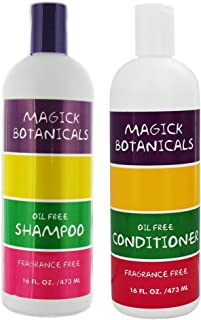 Magick Botanicals Oil Free and Fragrance Free Shampoo & Conditioner Bundle 16 oz Each