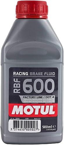 Motul Bidon de 0,5 l de Liquide de Frein RBF 600Racing