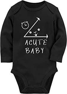 Baby Boys Girls Romper Jumpsuit Newborn Funny Bodysuits Outfits 0-12 Months