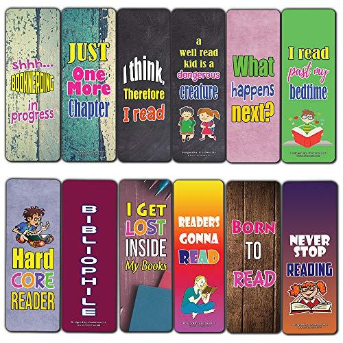 Segnalibri motivazionali con anima rigida, confezione da 12 (12-Pack) Hard Reader Bookmarks (12-pack)
