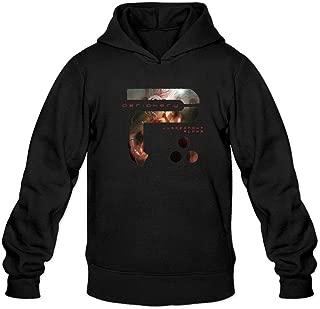 ZHENGXING Men's Periphery Juggernaut Alpha Logo Hoodie XXL Dark Grey