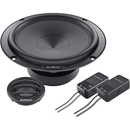 Audison Prima Apk165 Komponenten Lautsprechersystem Mit Elektronik