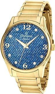 Relógio Feminino Champion Com Colar E Brincos Mod: Cn26975K