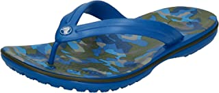 crocs Tongs Crocband Imprimé Flip Bright Cobalt