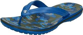 crocs Tongs Crocband Imprimé Flip Bright Cobalt