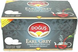 Earl Grey 100 Pads Beutel Schwarztee - Dogus Türkischer schwarzer Tee - 2er Pack