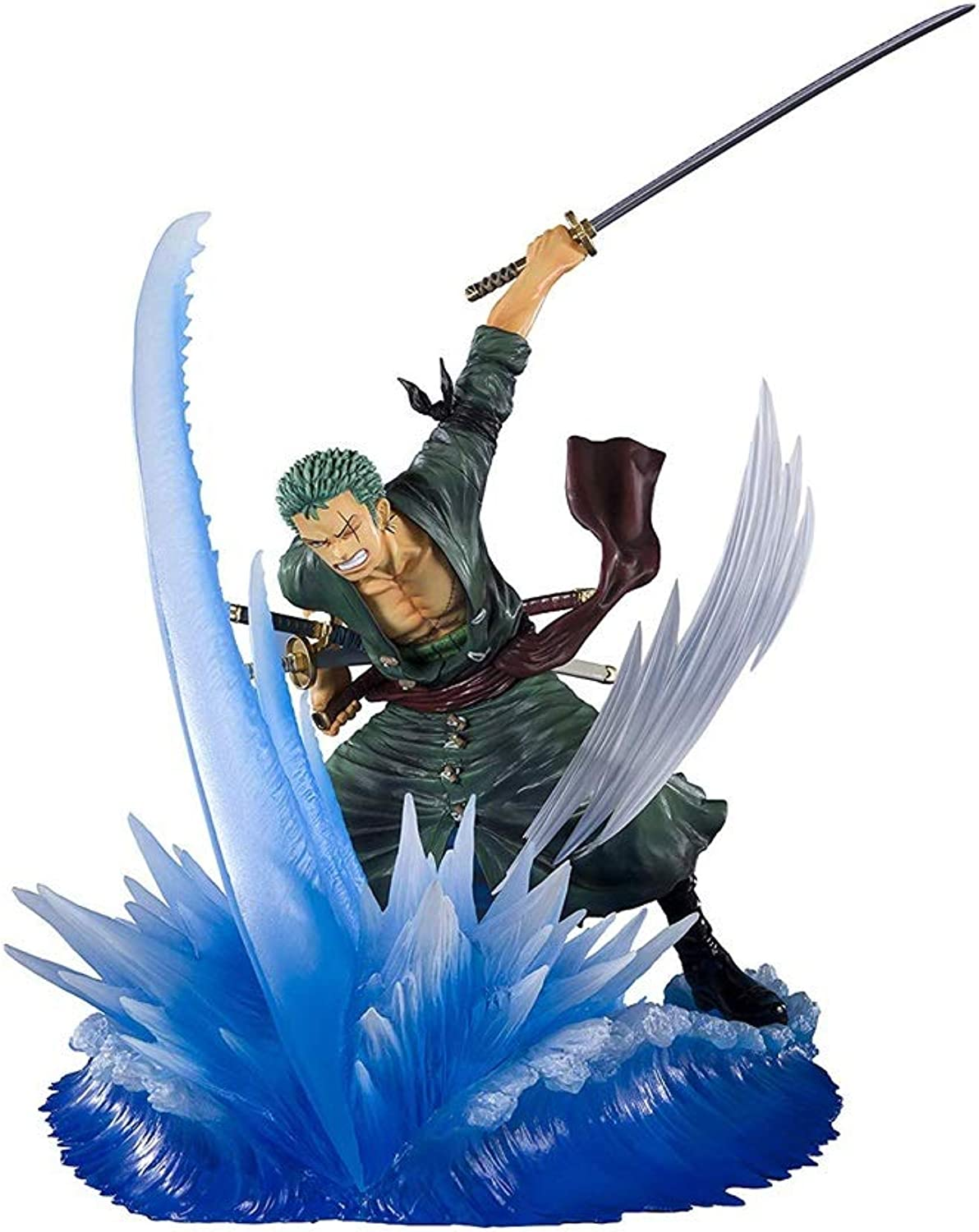 One Piece  Rgoldnoa Zgold PVC Battle Modeling Scene Figure - High 5.7 Inches