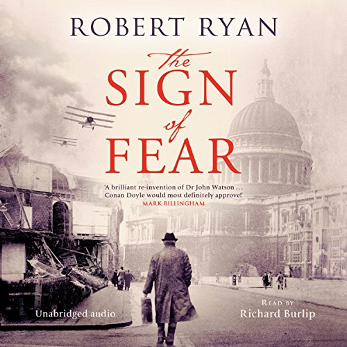 The Sign of Fear audiobook cover art