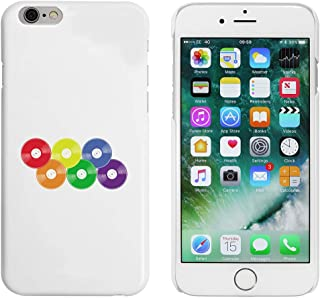 White 'Rainbow Vinyl Records' Case for iPhone 6 & 6s (MC00253282)
