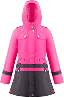 Poivre Blanc Trench De lluvia 2300 Lady Pink Carbonone Grey - Niña, color rosa