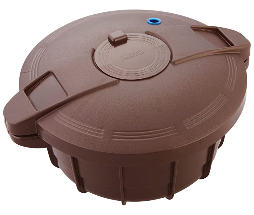 排除するナチュラ縫うマイヤー 旧タイプ 電子レンジ圧力鍋 ブラウン MPC-2.3BR