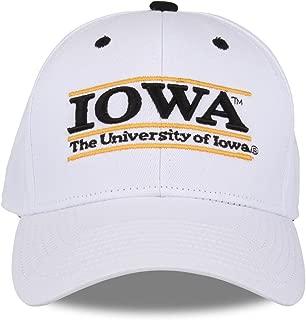 Iowa Hawkeyes Adult Game Bar Adjustable Hat - White,
