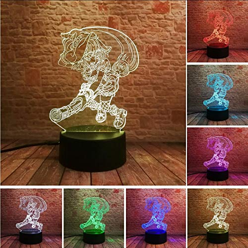Lifme Luminary Anime Cartoon Balai Magique Sorceleur Magicien Master Illusion 7 Gradient De Couleur Enfant Filles Bébé De Noël Jouets Cadeaux