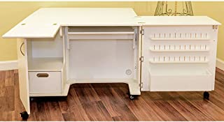 Kangaroo Fully Assembled Wallaby II Sewing Cabinet in White Ash