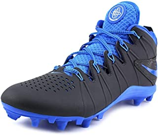 New Huarache 4 LAX Lacrosse/Football Cleats Anthracite/Blue Sz 12 M
