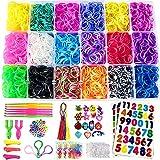 Affect Shop 7100+pcs 18 Colors Rubber Bands Loom Kit with Accessories Weaving Bracelet Set Children Good DIY Tools Kid Handmade Helper