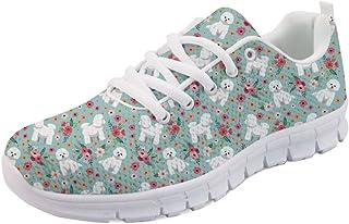 ShowuDesigns حذاء رياضي مريح للنساء للجري رياضي نمط عصري