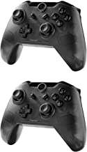 Insten Wireless Pro Remote Controller for Nintendo Switch 2-Pack Wireless Gaming Pro Controller Bluetooth Gamepad Joypad Compatible With Nintendo Switch / Lite Version, Black (with USB charging cable)